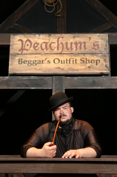 Zachary Allen Farmer as Mr. Peachum
