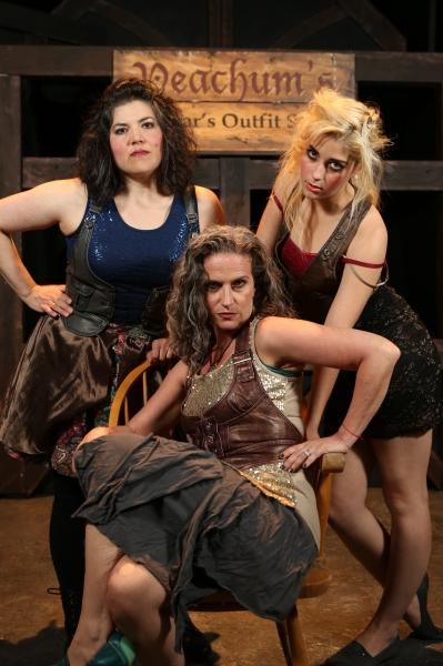 The ''ladies'' of SoHo - Kimi Short, Margeau Baue Steinau, and Larissa White Photo