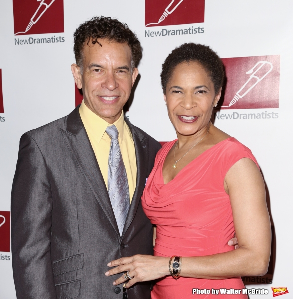 Brian Stokes Mitchell and Allyson Tucker