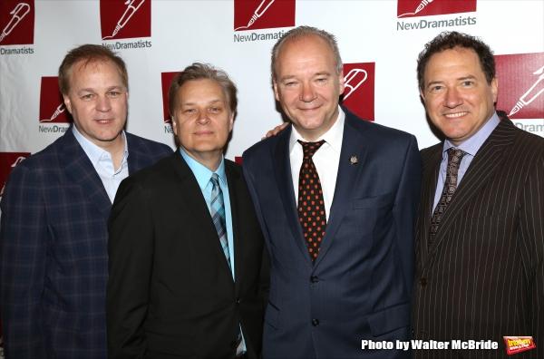 Karey Kirkpatrick, Wayne Kirkpatrick, John O'Farrell and Kevin McCollum Photo