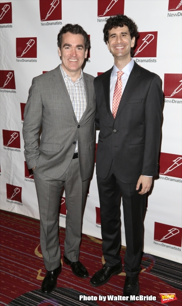 Brian d'Arcy James and John Cariani