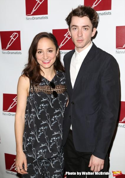Lydia Leonard and Matthew Beard