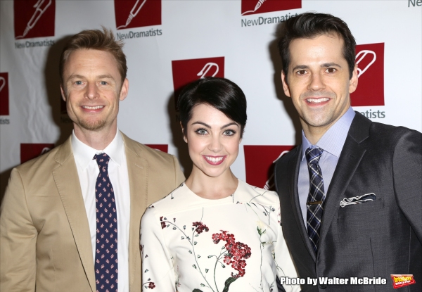 Christopher Wheeldon, Leanne Cope and Robert Fairchild