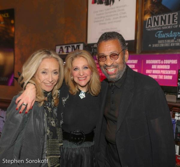 Eda Sorokoff, Julie Budd, Maurice Hines