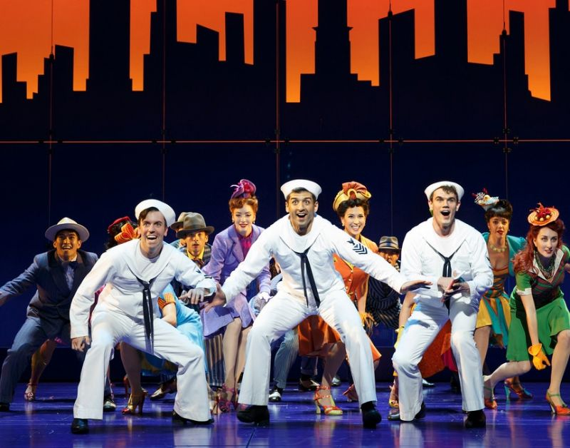 Dvr alert cast of broadway s on the town to perform on nbc s today
