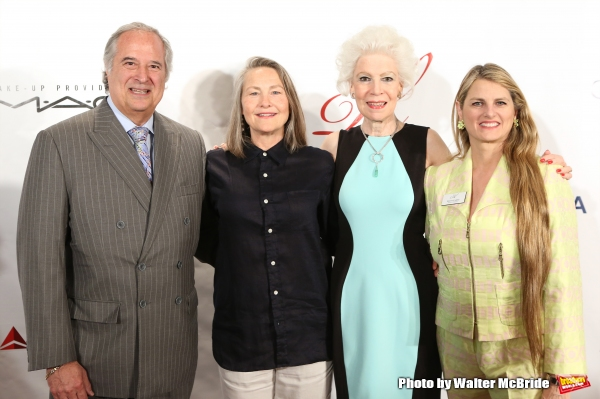 Stewart F. Lane, Cherry Jones, Jano Herbosch and Bonnie Comley