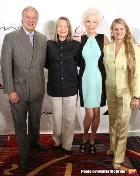 Stewart F. Lane, Cherry Jones, Jano Herbosch and Bonnie Comley