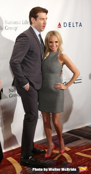Andy Karl and Kristin Chenoweth