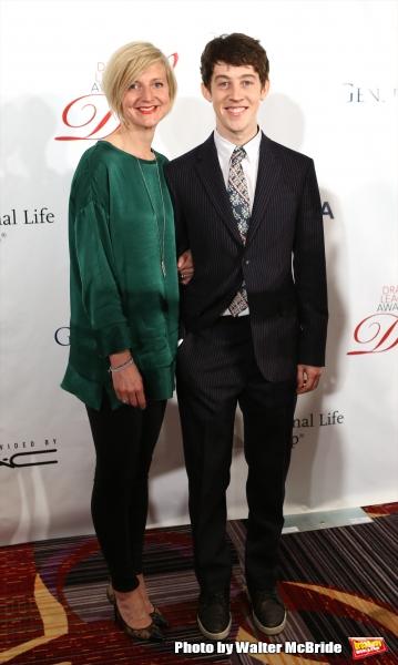 Marianne Elliott and Alex Sharp
