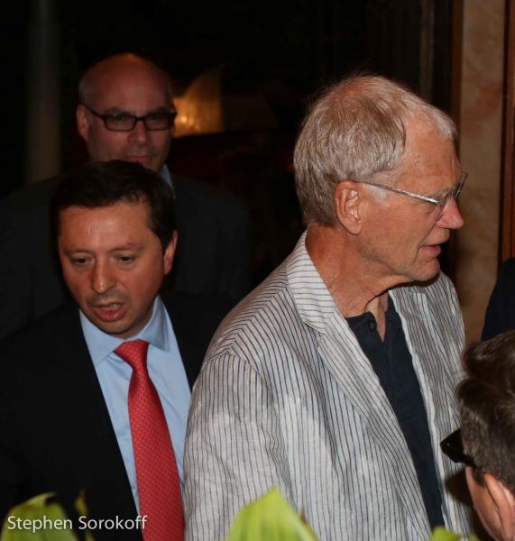 Giuseppe Tarillo & David Letterman