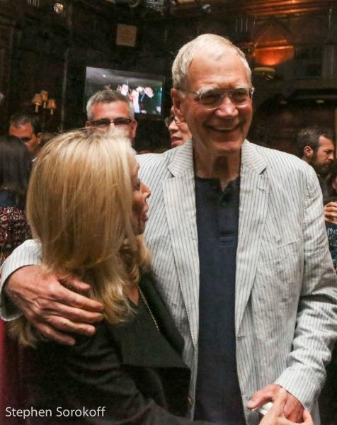 Eda Sorokoff & David Letterman