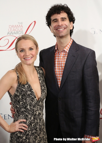 Kate Reinders and John Cariani