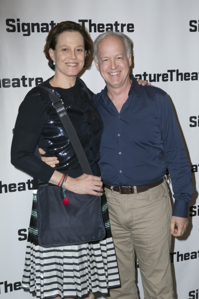 Sigourney Weaver and Reed Birney