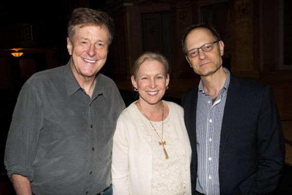 Brian Hargrove, Senator Kristen Gillibrand and David Hyde Pierce