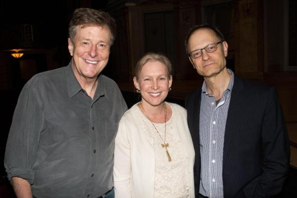 Brian Hargrove, Senator Kristen Gillibrand and David Hyde Pierce
