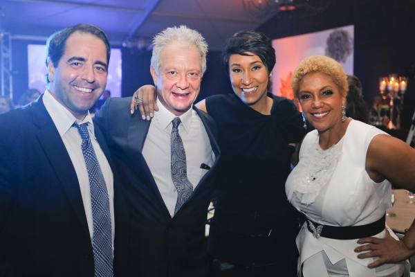 Sean Conroy, Steppenwolf co-founder Jeff Perry, Desiree Rogers, Linda Johnson Rice