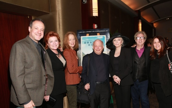 Producer Allan Neuwirth, Kate Mulgrew, Kristin Griffith, Wally Shawn, Judy Collins, composer Jody Gray and Producer Margarethe Baillou