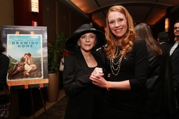 Singer Judy Collins and Julie Lynn Mortensen