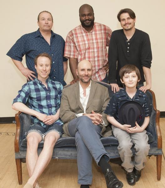 Clockwise from top left: Jim Frangione, Dereks Thomas, Jason Ritter, Henry Kelemen, Jordan Lage and Nate Dendy