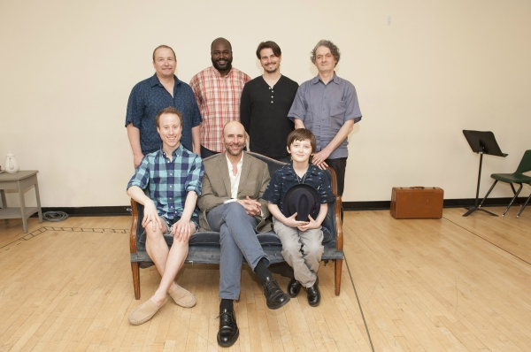 Clockwise from top left: Jim Frangione, Dereks Thomas, Jason Ritter, director Scott Ziegler, Henry Kelemen, Jordan Lage and Nate Dendy