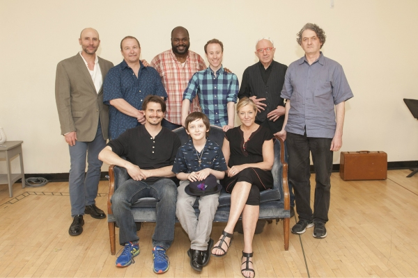 Clockwise from top left: Jordan Lage, Jim Frangione, Dereks Thomas, Nate Dendy, Arliss Howard, director Scott Zigler, Mary McCann, Henry Kelemen and Jason Ritter