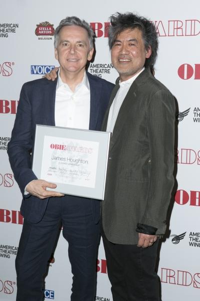 James Houghton and David Henry Hwang Photo