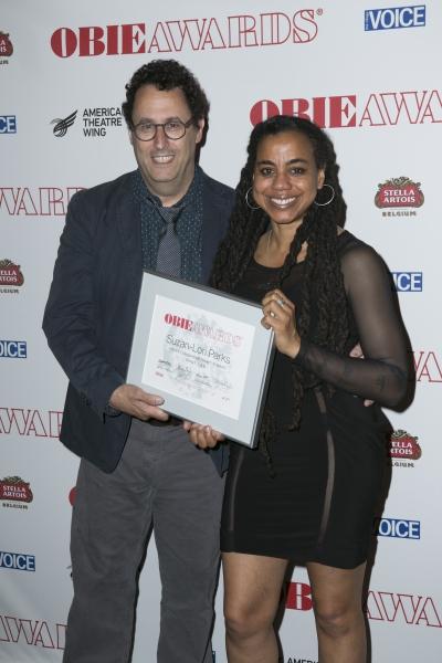 Tony Kushner and Suzan Lori-Parks