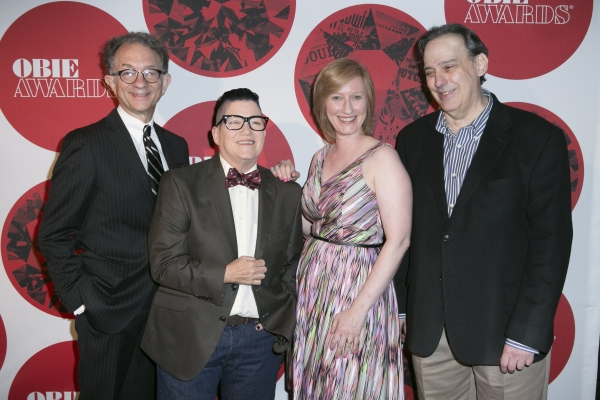 William Ivey Long, Lea DeLaria, Heather Hitchens and Tom Sellar