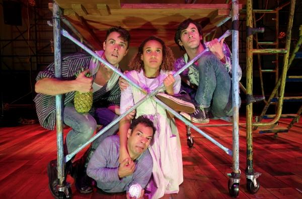 Miles Fletcher, Paco Tolson, Gabrielle McClinton and Wyatt Fenner Photo