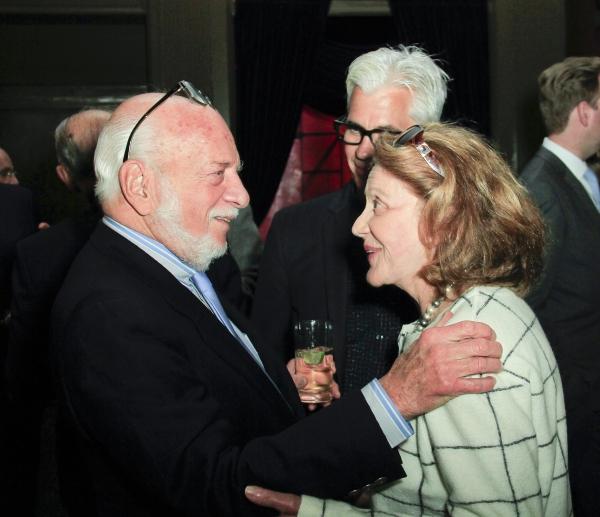 Hal Prince, Linda Lavin, Steve Bakunas