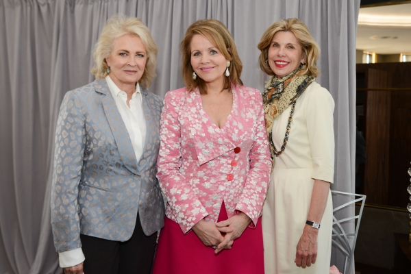 Candice Bergen, Renee Fleming, Christine Baranski