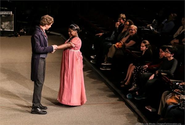 Connor Stewart and Melanie Johnson  Photo