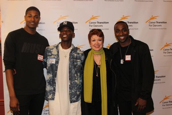 Lawrence Alexander, Elishah Bowman, Donna McKechnie and LaMar Baylor