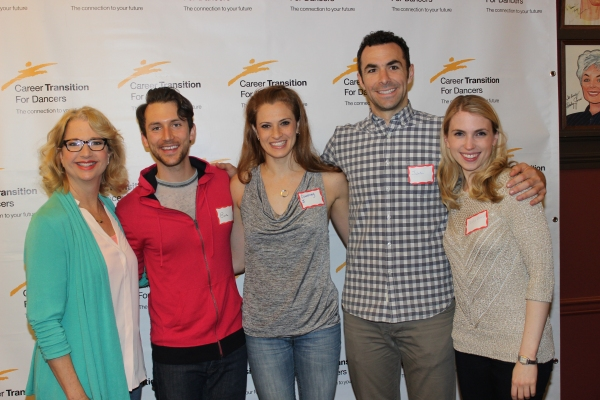 Linda Griffin, Eric Giancola, Courtney Iventosch, Justin Peck and Polly Baird