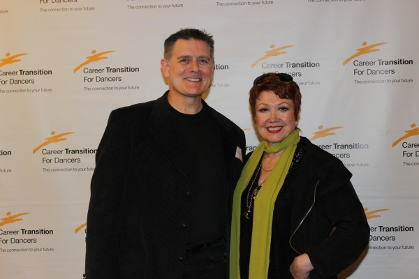Greg Norton and Donna McKechnie