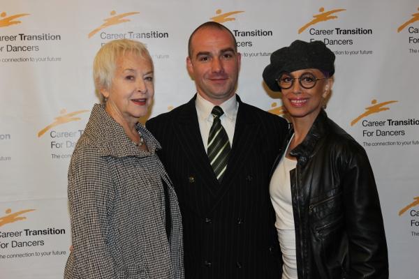 Judith Anderson, Sean Ricketts and Mercedes Ellington