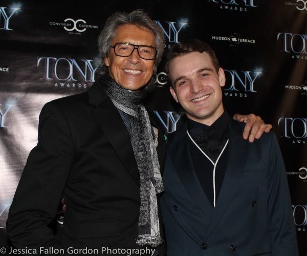 Tommy Tune and Micah Stock