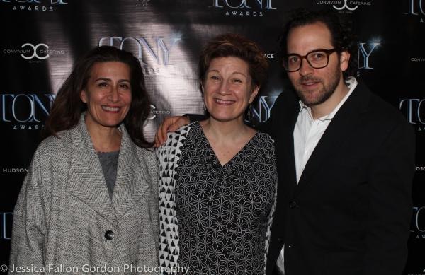 Jeanine Tesori, Lisa Kron and Sam Gold