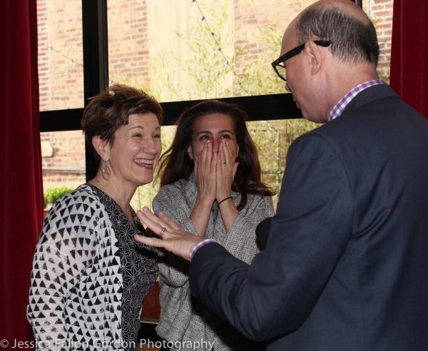 Lisa Kron, Jeanine Tesori and Richie Ridge