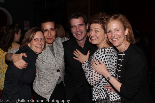 Kristin Caskey, Jeanine Tesori, Michael Isaacson, Lisa Kron and Barbara Witman