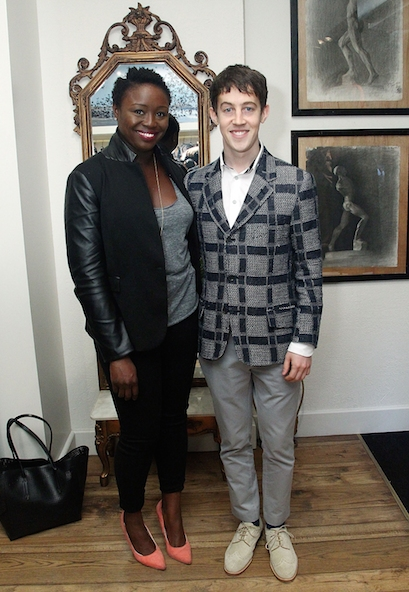 Jocelyn Bioh and Alex Sharp