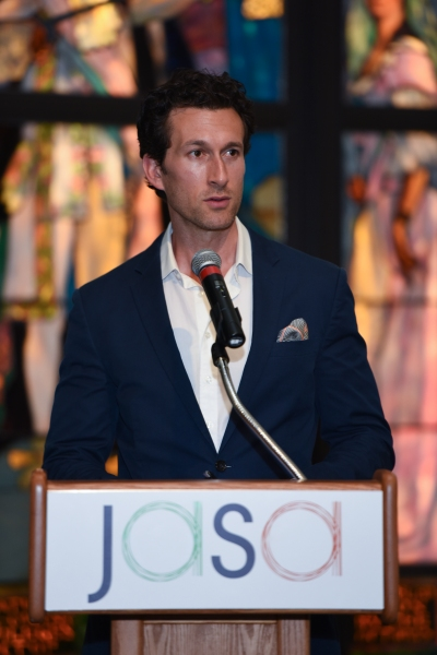 Photo Flash: THE LAST SHIP's Aaron Lazar Hosts Event for Seniors in NYC