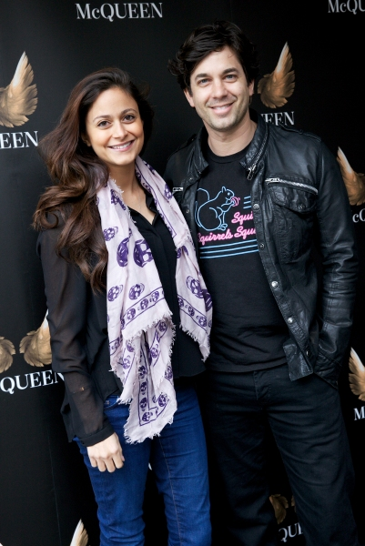 Adam Garcia and his wife Nathalia Chubin