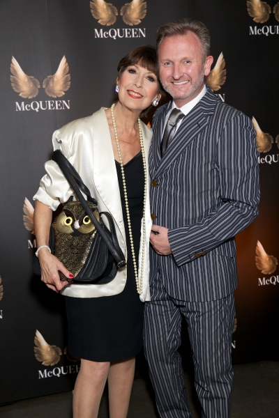 Anita Harris with producer Julian Stoneman