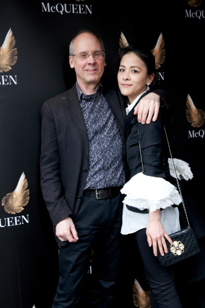 John Caird (Director) with his wife Maoko Imai