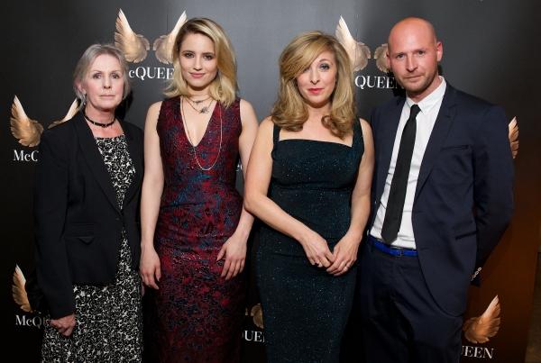 Jannet McQueen, Dianna Agron, Tracy-Ann Oberman and Garry McQueen
