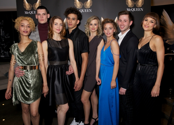 Sophie Apollonia, George Hill, Amber Doyle, Jordan Kennedy, Carrie Willis, Eloise Hymas, James Revell and Rachel Louisa Maybank