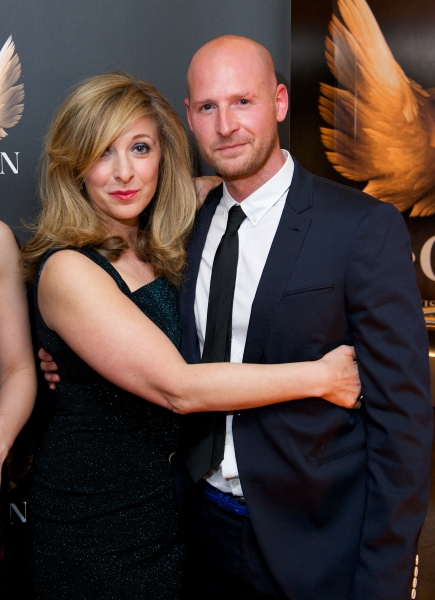 Tracy-Ann Oberman and Gary McQueen
