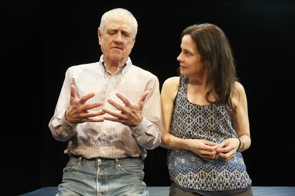 Photo Flash: First Look at Denis Arndt and Mary-Louise Parker in MTC's HEISENBERG