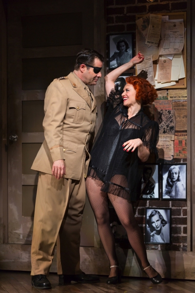 Photo Flash: Sneak Peek at Mike McGowan and Anastasia Barzee in KISS ME, KATE, Coming to The Old Globe